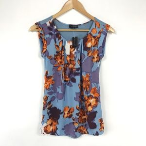 The Limited Sleeveless Floral Top